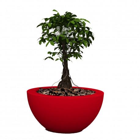 Pot Sfera Aire diamètre 60 cm, Vondom rouge