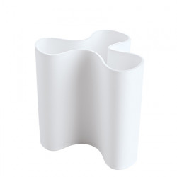 Vase design Clara, Koziol blanc opaque