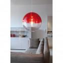 Suspension Orion, Koziol rouge transparent