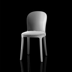 Vanity chair, Magis blanc structure blanche