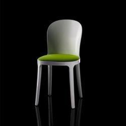 Vanity chair, Magis vert structure blanche