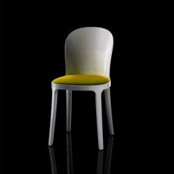 Vanity chair, Magis jaune structure blanche