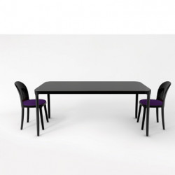 Vanity table, Magis verni noir L160 cm