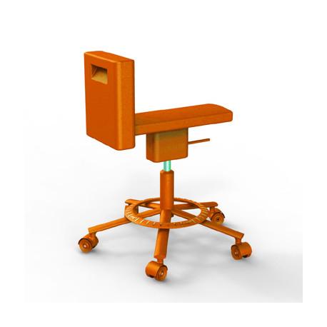 Chaise 360° Magis orange