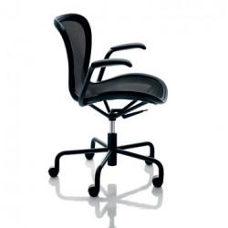 Chaise de bureau Annet, Magis noir structure noire