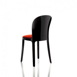 Vanity chair, Magis rouge structure noire