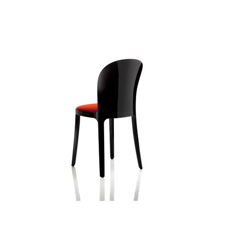 Vanity chair, Magis rouge structure noire