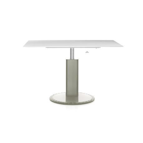 Table de bureau rectangulaire 360° Magis gris clair