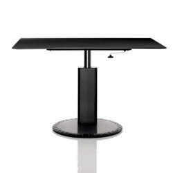Table de bureau rectangulaire 360° Magis noir