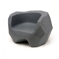 Fauteuil Piedras, Magis Me Too gris anthracite