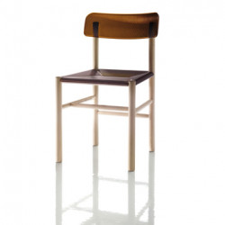 Trattoria chair Magis marron