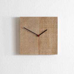 Horloge Nature moyenne, Diamantini & Domeniconi bois clair