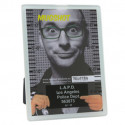 Cadre photo design prisonnier gris