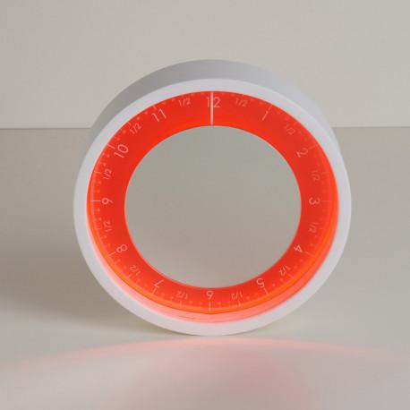 Horloge Solo Ora, Diamantini & Domeniconi rouge 50cm
