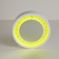 Horloge Solo Ora, Diamantini & Domeniconi jaune 50cm