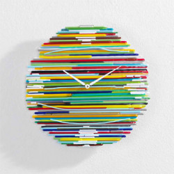 Arlecchino Horloge design Diamantini & Domeniconi multicolore