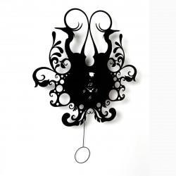 Horloge Back Nature, Diamantini & Domeniconi noir