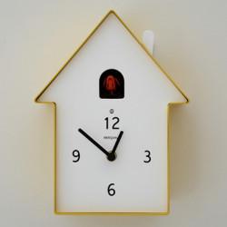 Horloge Cucù Meridiana, Diamantini & Domeniconi jaune