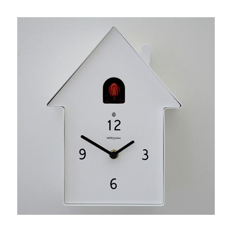Horloge Cucù Meridiana, Diamantini & Domeniconi blanc