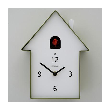 Horloge Cucù Meridiana, Diamantini & Domeniconi vert