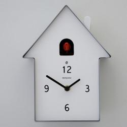 Horloge Cucù Meridiana, Diamantini & Domeniconi argent