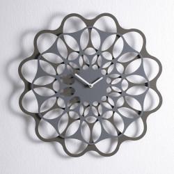 & Horloge design Diamantini & Domeniconi gris anthracite et aluminium Diamètre 40 cm