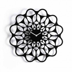 & Horloge design Diamantini & Domeniconi noir Diamètre 40 cm