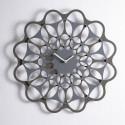 & Horloge design Diamantini & Domeniconi gris anthracite et aluminium Diamètre 70 cm
