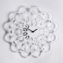 & Horloge design Diamantini & Domeniconi blanc Diamètre 70 cm