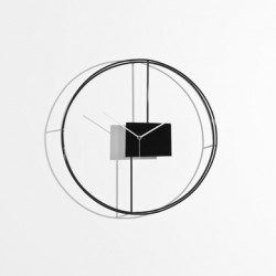 Tutto Torna Horloge design Diamantini & Domeniconi noir