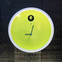 Horloge Cuckoo Plex, Diamantini & Domeniconi jaune vert
