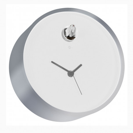 Horloge Cuckoo Plex, Diamantini & Domeniconi blanc