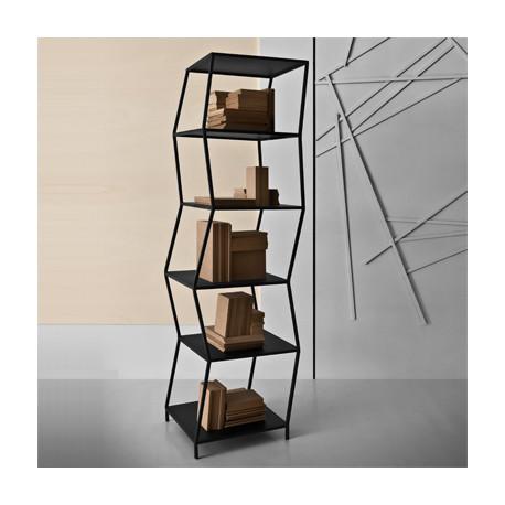Piopio étagère design Diamantini & Domeniconi Grande noir
