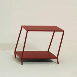 Piopio table basse design Diamantini & Domeniconi rouge