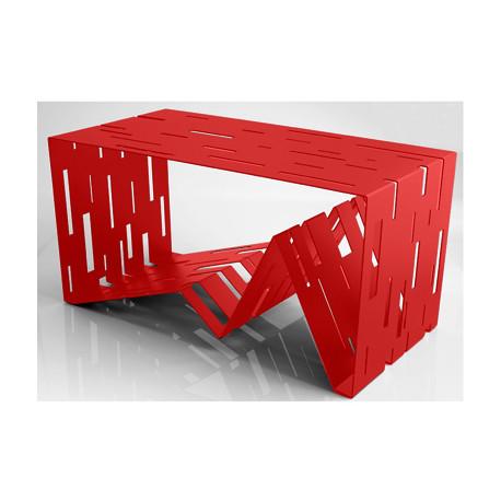 Data table basse design Diamantini & Domeniconi rouge