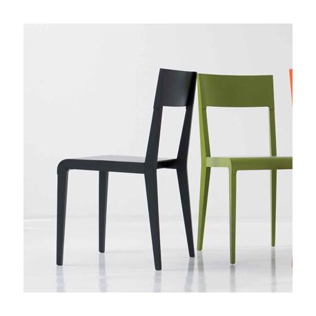 Basic chaise design Diamantini & Domeniconi noir