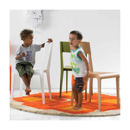 Basic chaise design Diamantini & Domeniconi blanc