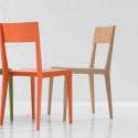 Basic chaise design Diamantini & Domeniconi bois hêtre
