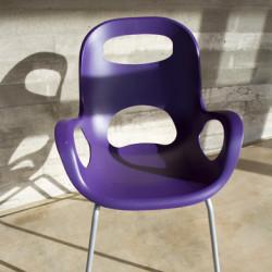 Chaise OH Umbra - lot de 4 chaises violet
