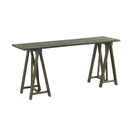 console bois chantier meuble hanjel bois gris cerise sur la deco. Black Bedroom Furniture Sets. Home Design Ideas