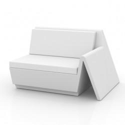 Canapé élément gauche Rest,Vondom blanc
