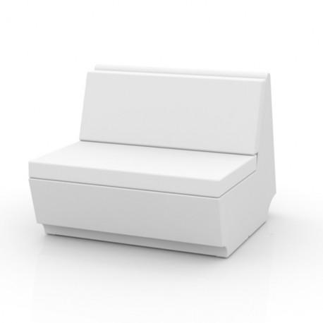 Canapé élément droit Rest, Vondom blanc