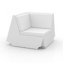 Canapé élément d'angle Rest, Vondom blanc