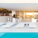 Transat design Rest Tumbona, Vondom blanc
