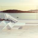 Table basse design Rest Tumbona, Vondom blanc