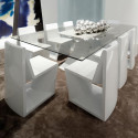 Table Rest, Vondom blanc Longueur 300 cm