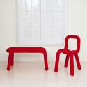 Chaise Design Bold, Moustache rouge
