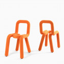 Chaise Design Bold, Moustache orange