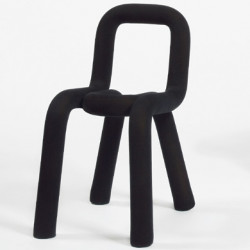 Chaise Design Bold, Moustache noir