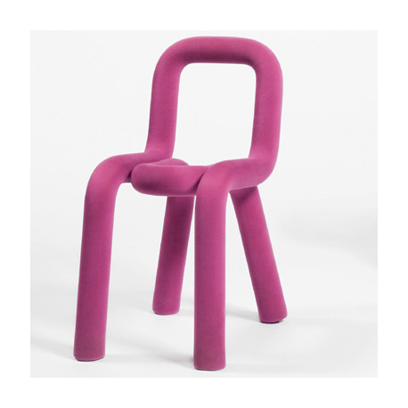 Chaise Design Bold, Moustache rose